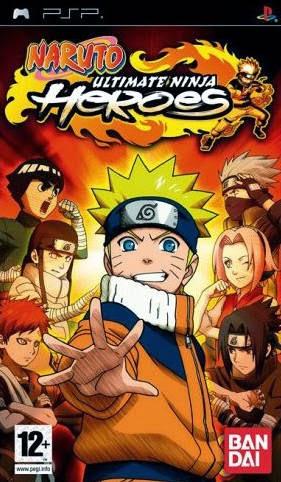 Naruto Ultimate Ninja Heroes [USA-PSP-ISO]