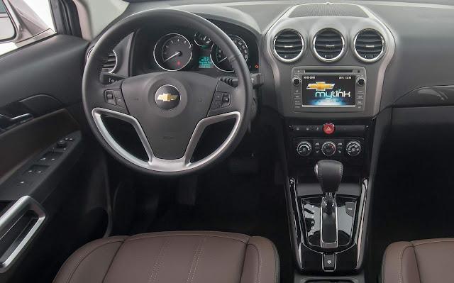 Chevrolet Capiva 2016
