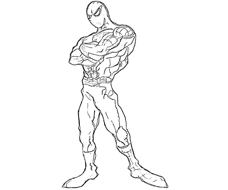 The amazing spider man funny yumiko fujiwara for Amazing spider man coloring pages
