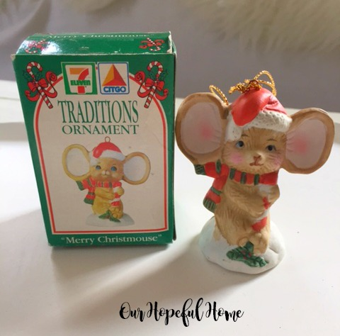 7 Eleven Citgo Christmas Ornament 1993 original box