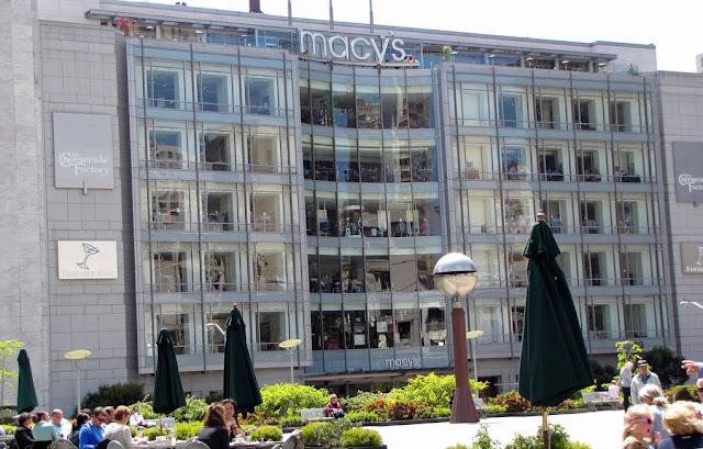 Loja de departamento Macy's em San Francisco na Califórnia