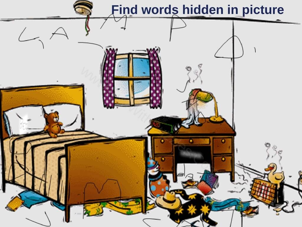 Search hidden objects in puzzle images for kids with ...
