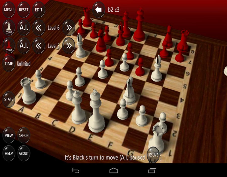 لعبة شطرنج مع الكمبيوتر بدون تحميل