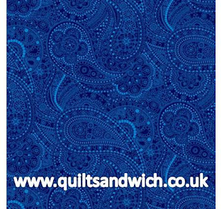 Black Chelsea Blue www.quiltsandwich.co.uk extra wide