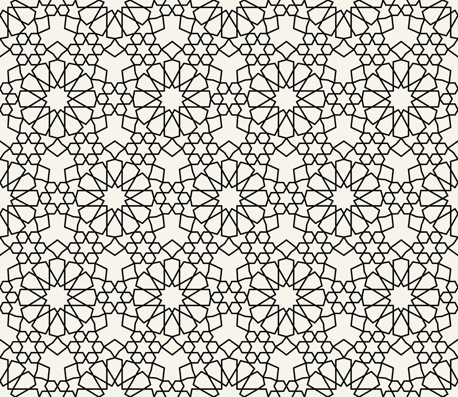 islamic inspired pattern vector free pattern vectors