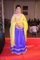 Actress Eesha in Yellow Choli Blue Ghagra at Darshakudu music launch 054.JPG