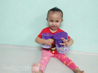 pediasure untuk anak yang tak nak makan, tukar susu anak