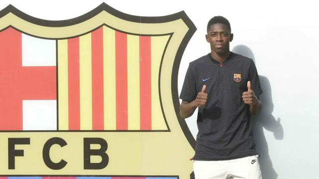 Cầu thủ đắt giá thứ 2 thế giới tươi rói đến Barca 2