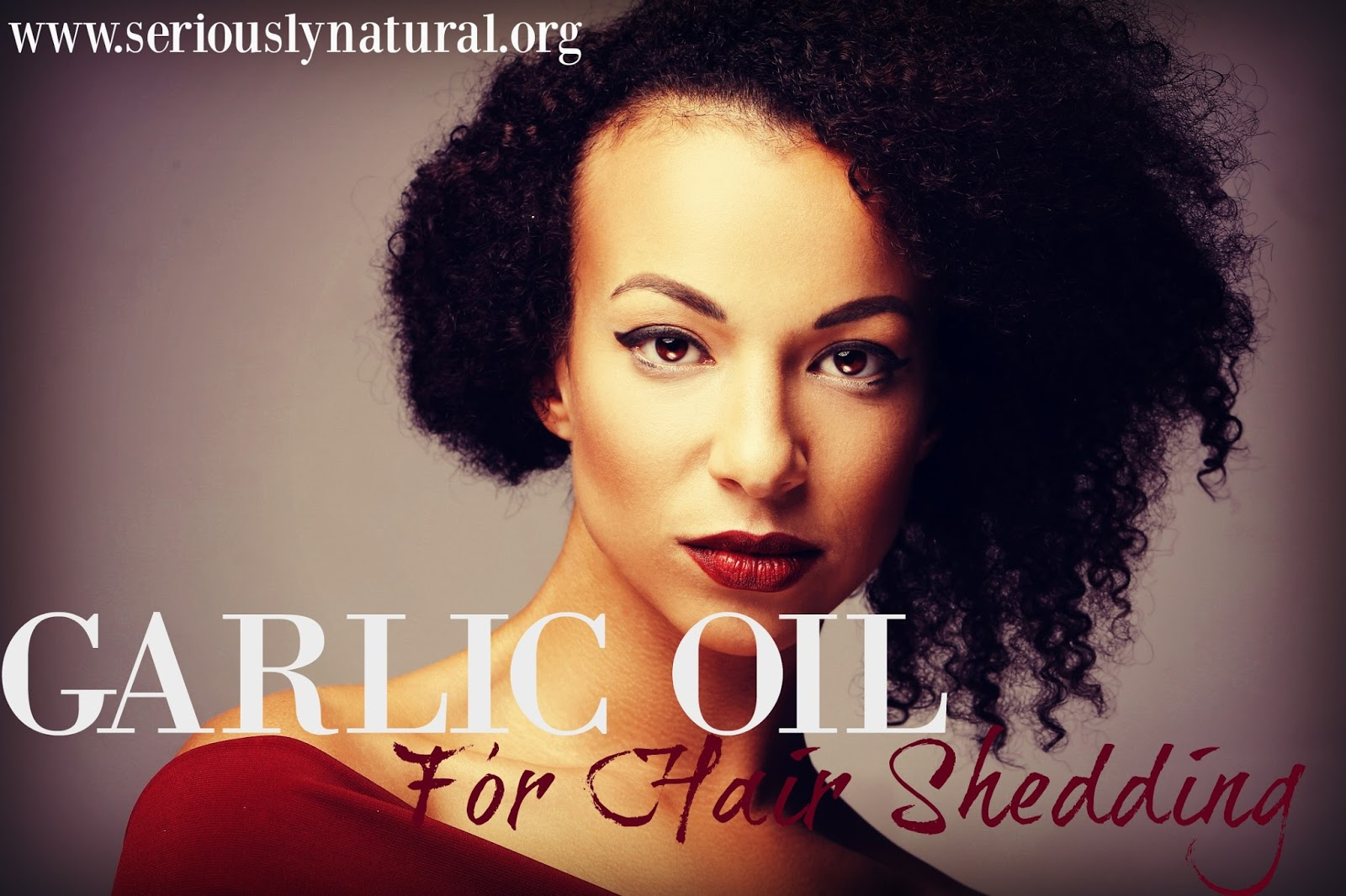 Garlic oil will nourish hair by stimulating the blood flow to your scalp. This encourages hair to grow rather that falling out or breaking off.