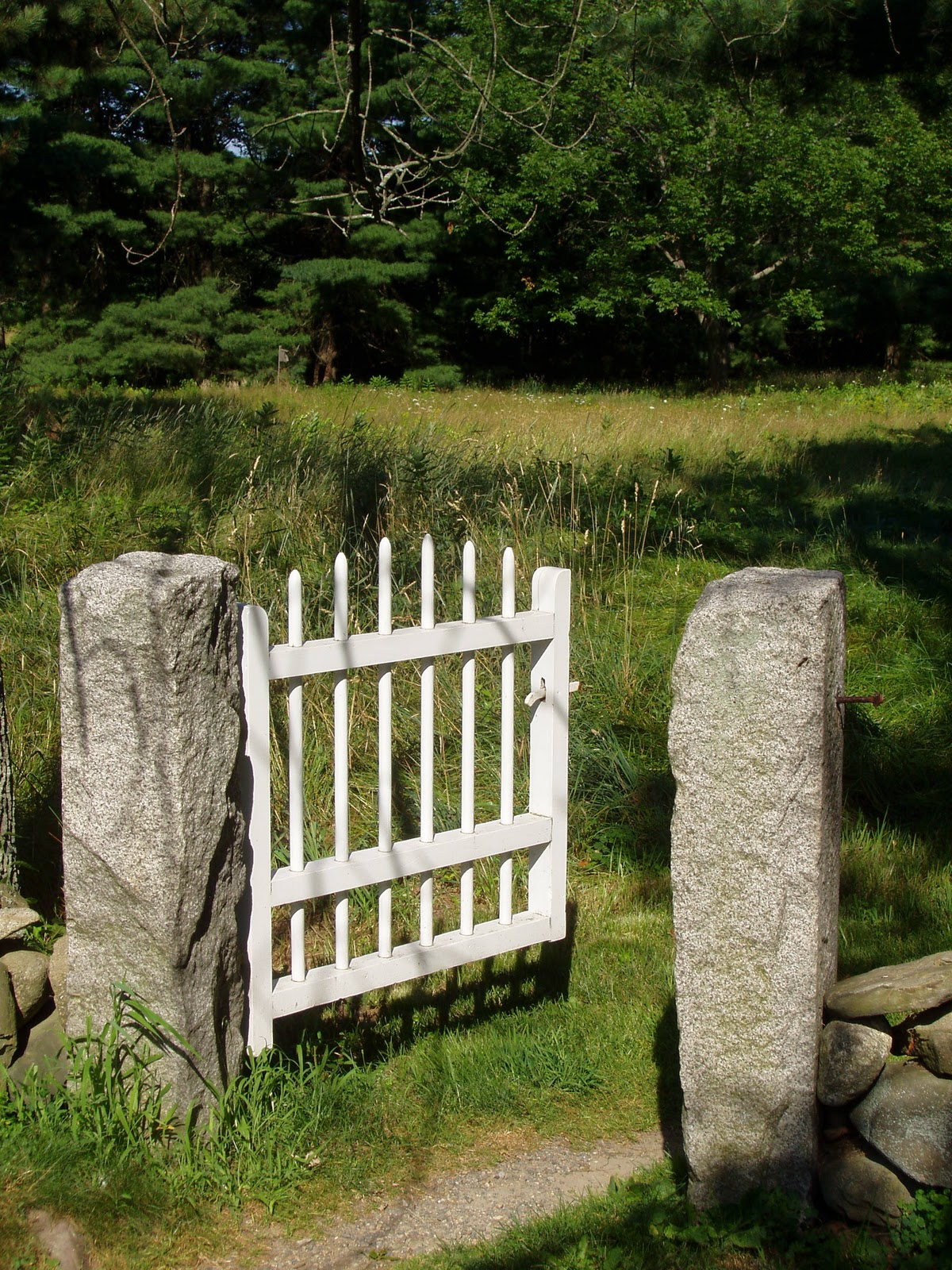 Picket Fences My House In Africa Thru The Garden Gate