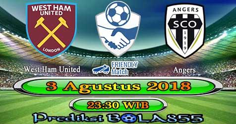 Prediksi Bola855 West Ham United vs Angers 3 Agustus 2018