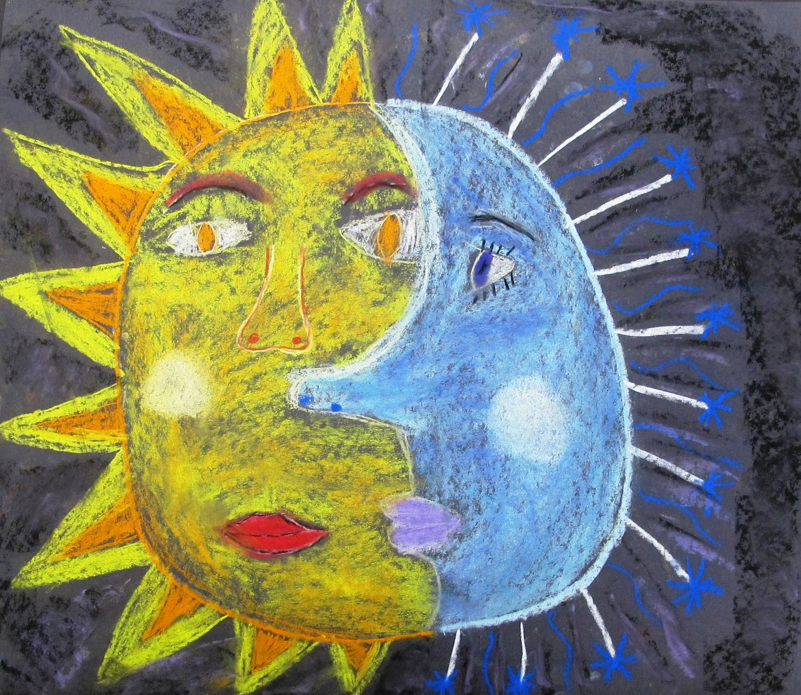 North Art Alert Why The Sun And The Moon Are In The Sky