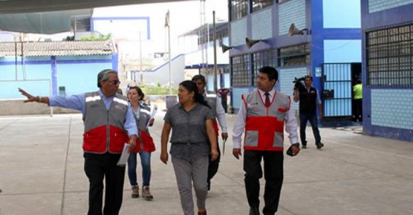 MINEDU atiende infraestructura de colegios para garantizar seguridad de escolares - www.minedu.gob.pe