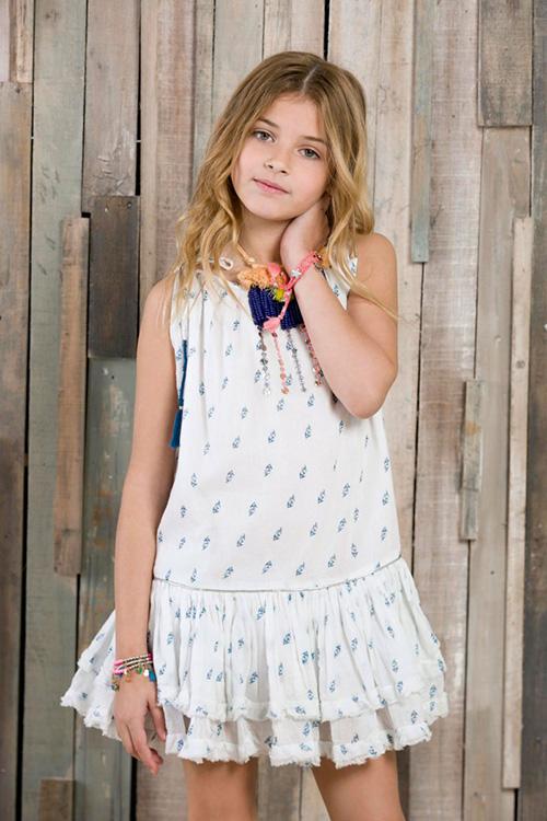 Moda primavera verano 2018 ropa de nenas. Moda 2018 verano.