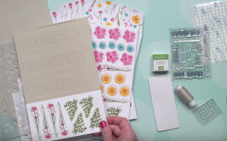 February 2018 Wildflower Wishes Paper Pumpkin Kit Contents