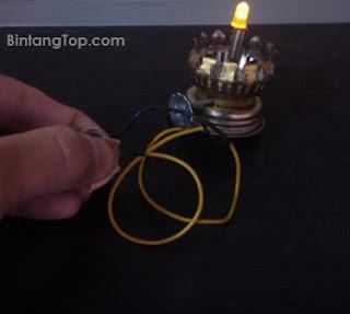 Cara Modofikasi Lampu Petromak menjadi tanpa minyak lagi :