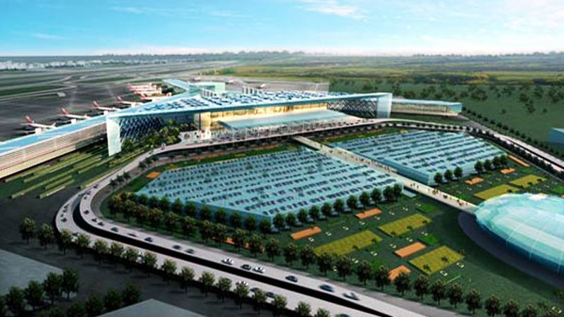 CAA Going To  Investigate Huge Cracks In A Building of New Islamabad Airport