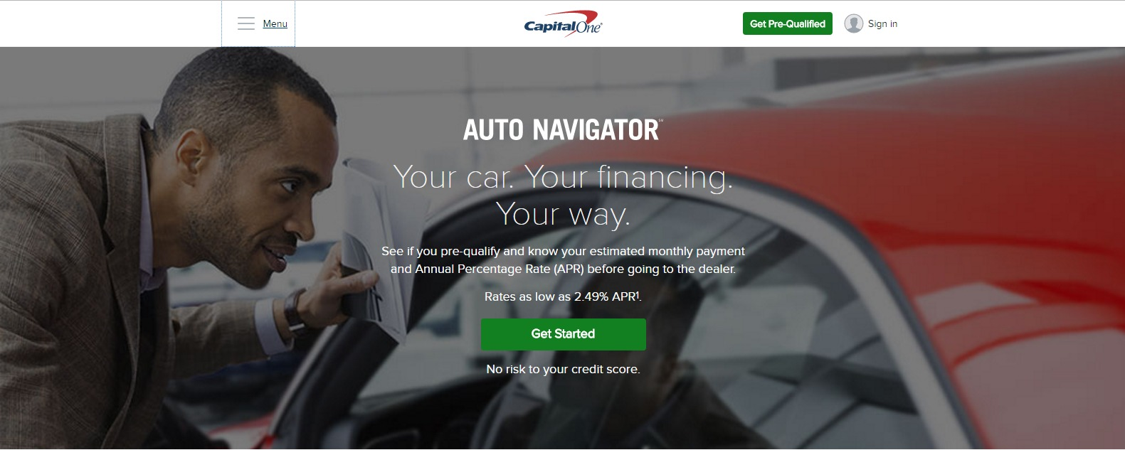 Preparing for An Upgrade Using Capital One's Auto ...
