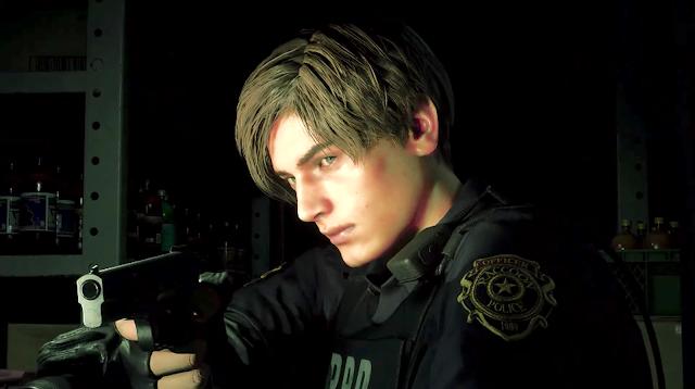 Resident Evil 2 remake Capcom Leon