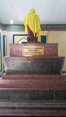 Makam Sultan Siak IV Sultan Abdul Jalil Alamuddin Syah (Marhum Bukit)