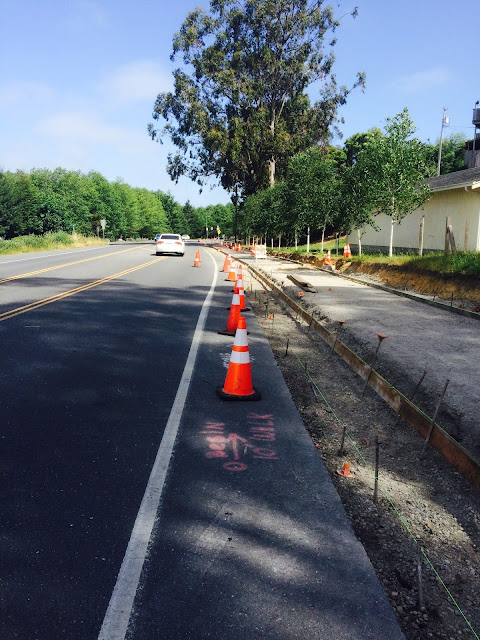 ARCATA'S NEW BIKE PATH ACROSS TOWN IS HAPPENING!