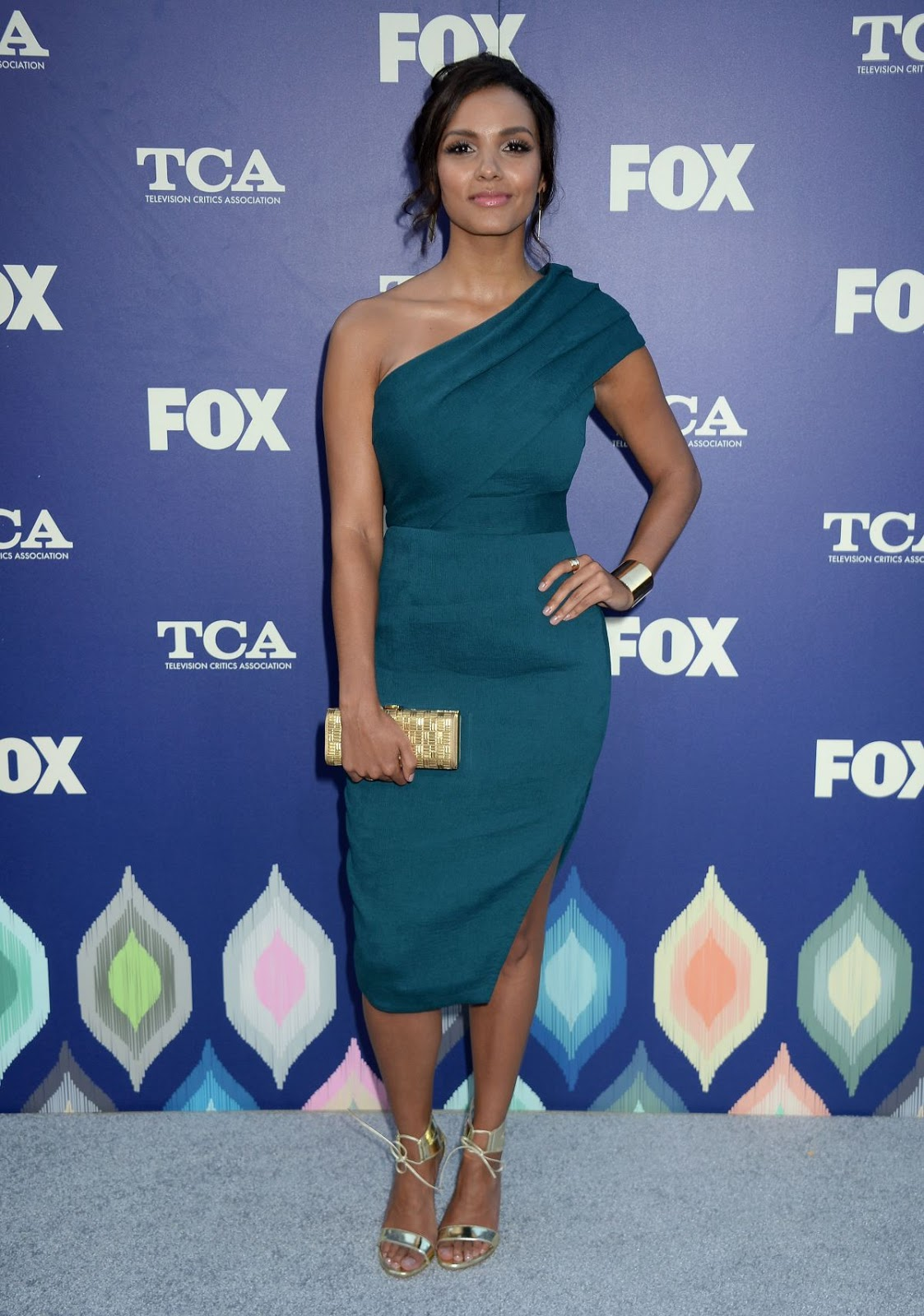 Gotham actress Jessica Lucas at Fox Summer TCA all Star Party in West Hollywood