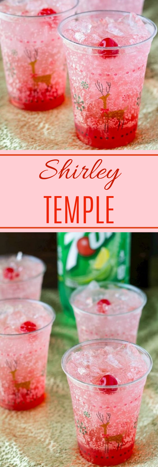 Shirley Temple #holidaydrink #kidfriendly