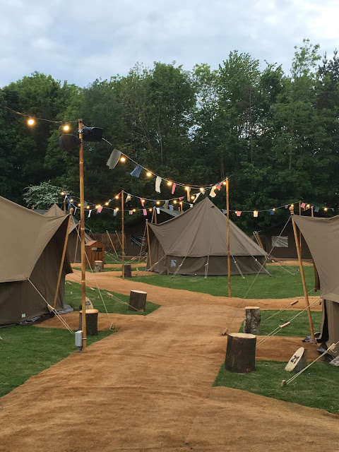 Explorer Glamping site Chessington