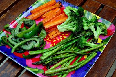 Grilled Vegetables - Photo by David Yussen