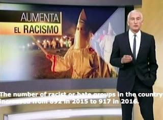 Ramos realiza desde Univisión una sistemática campaña anti Trup