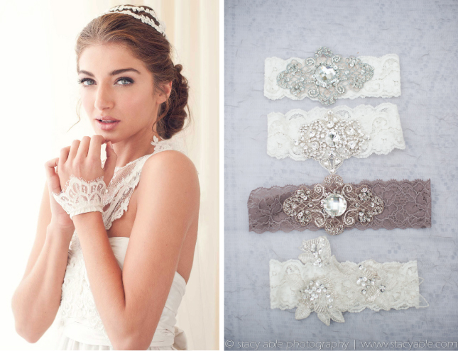 Lace Wedding Dress And Accessories To Get You Inspired Here Are A Few Examples Veil Headpiece Shoes Bracelet Garner