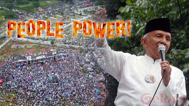 People Power ala Amien Rais