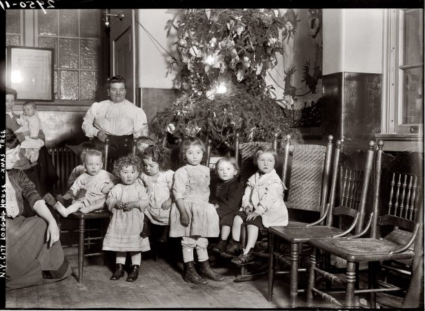 Vintage Christmas Photographs Predating 1920 Vintage