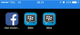 Cara Baru Install 2/3 BBM di iPhone Tanpa Jailbreak 100% Work