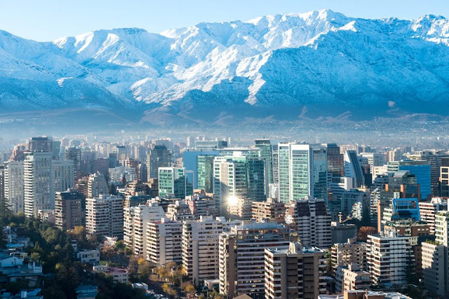 Santiago, Chile's capital city.