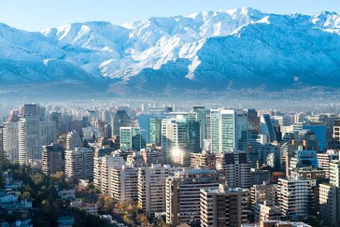Santiago, Chile's capital city.