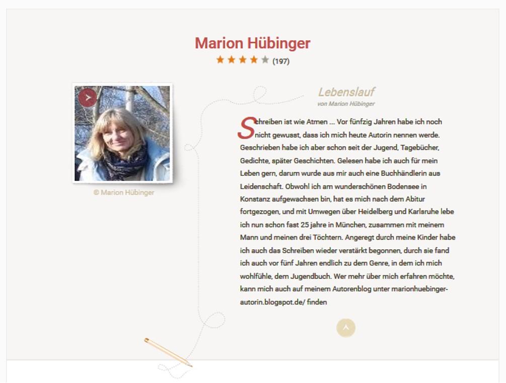 https://www.lovelybooks.de/autor/Marion-H%C3%BCbinger/