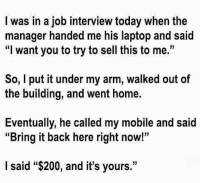 The Job Interview - Funny Jokes