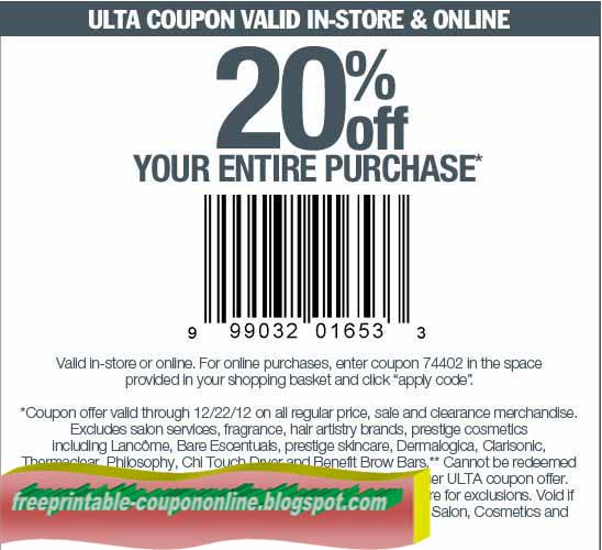 Ulta coupons 2018 december
