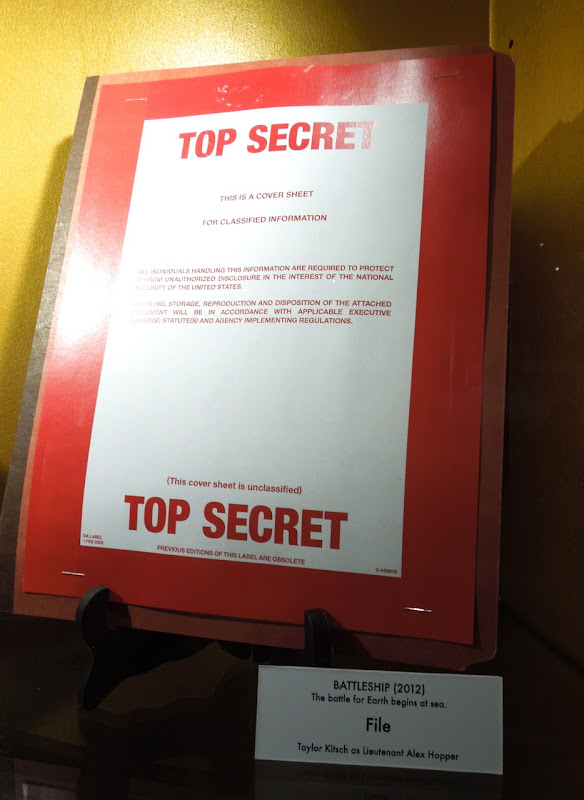 Battleship Top Secret file prop