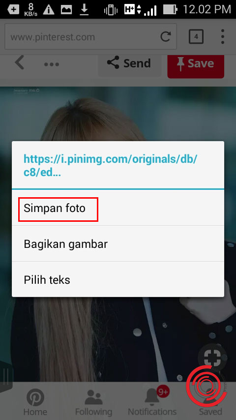 Cara Download Gambar Di Pinterest Tanpa Aplikasi Langsung Tersimpan Di Galeri Kepoindonesia