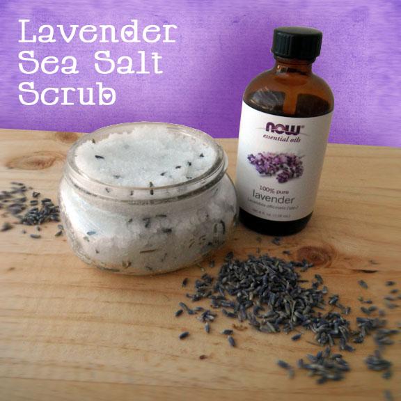 Paula Parrish: Lavender Sea Salt Scrub DIY