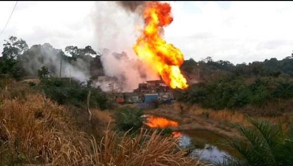 5 Orang Tewas Kebakaran Selang Minyak Di Aceh