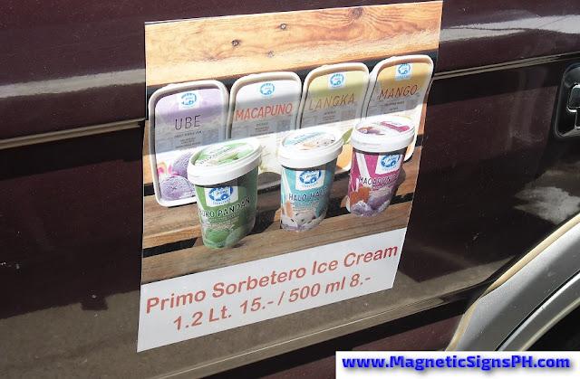 Van Magnet - Primo Sorbetero Ice Cream