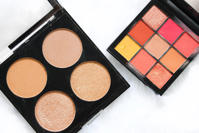 Nip and Fab Bronzing Palette, Huda Beauty Coral Obsessions