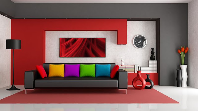 gambar desain ruang keluarga yang sangat minimalis.