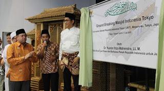 Muslim Indonesia di Tokyo Bangun Masjid