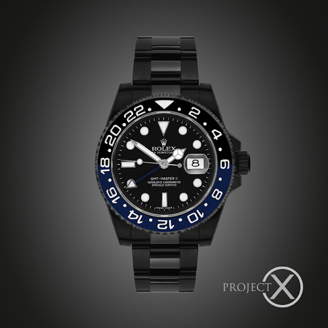 Photo of Black-Out Rolex GMT-Master II BLNR by Project X (photo: Project X)