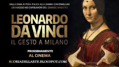 fotomontaggio dama in posa italica Leonardo da Vinci-Scoria dell'Arte