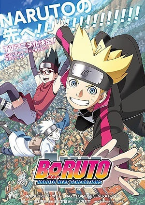 Boruto: Naruto Next Generations 1ª Temporada (2017) HDTV e HDTV 720p Legendado – Download Torrent